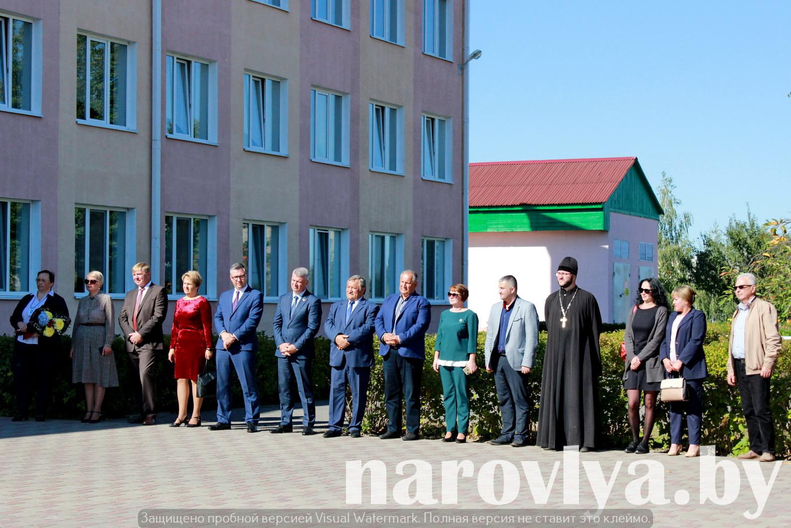 Делегация ФПБ посетила Наровлянский район